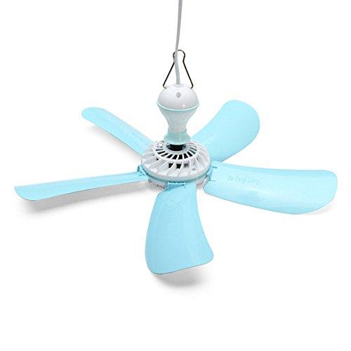 Bargain World 220V 7W Energy-saving Electric Anti-mosquito Mini Ceiling Cool Fan (Mini Fan 220v compare prices)