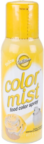 Wilton 710-5502 Food Decorative Color Mist, Yellow