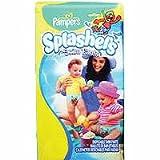Pampers SPLASHERS Swim Pants Size 6 (37+lbs 17+kg) 10 Disposable Swim Pants