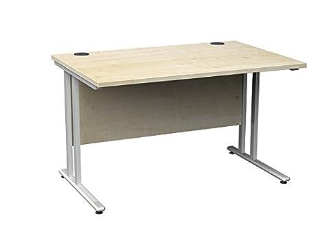 1200mm droite Table Bureau d'angle Ordinateur en chêne