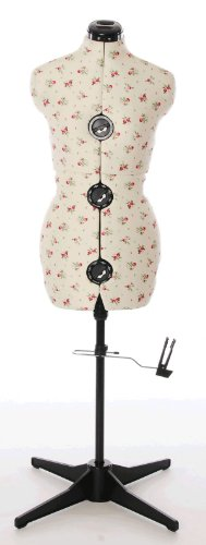 Floral Adjustable Dressmakers Dummy (Medium)