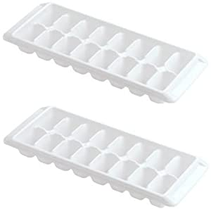 Rubbermaid White Ice Cube Tray (Pack of 2)