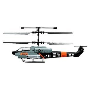 Viefly 3 Channel RC Military Gyro Mini Indoor Helicopter with Mini Tool Box (fs)