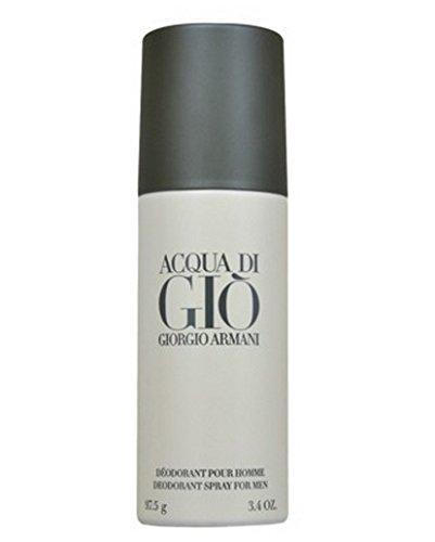 Acqua Di Gio ジョルジオアルマーニアルコールフリーデオドラントスプレー75g 並行輸入品