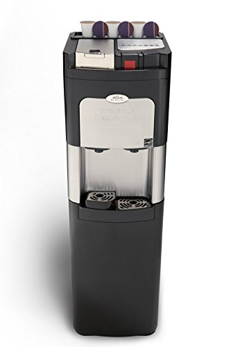 Coffee Maker And Water Dispenser : Estratto, Coffee Maker Single Cup & Commercial Water Cooler, Keurig K-Cup Compatible, Bottom ...