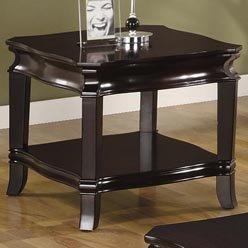 Cheap Deep Espresso End Table by Coaster Furniture (B0051PE5EQ)