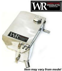 Weapon-R 826-123-101 Coolant Overflow Tank, Aluminum racing aluminum radiator coolant overflow oil storage tank diesel oil catch can fuel tank fit for 240sx s13