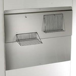 broan rmp3004 30 inch stainless steel backsplash with fold down