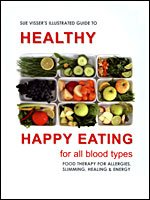 Illustrated Guide to Healthy Happy Eating - For All Blood Types - Food Therapy for Allergies, Slimming, Healing & Energy