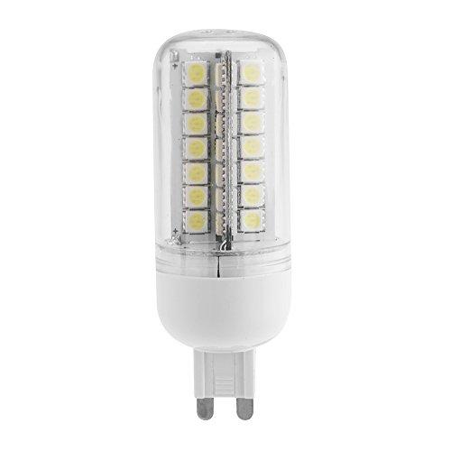 Kkmoon G9 7W 5050 Smd 56 Leds Energy Saving Corn Light Lamp Bulb 360 Degree Lighting Angle Warm White 200-230V