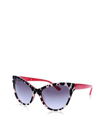 GUESS Gafas de Sol 7430 (56 mm) Negro / Beige