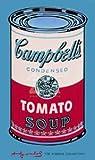 ポスター アンディ ウォーホル キャンベルスープ缶 1965 (ピンク &レッド)