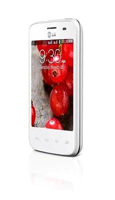 LG Optimus L3 II E435 White Dual Sim Factory Unlocked Android Phone