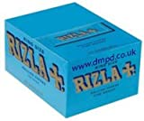 Rizla Rolling Paper 50 Books per Box - Fine Weight King size (Blue)