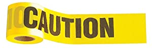 Johnson Level & Tool 3324 3-Inch by 1,000-Foot Yellow Caution Tape