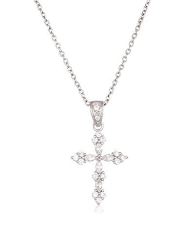 Bliss Swarovski Elements Encrusted Cross Pendant Necklace