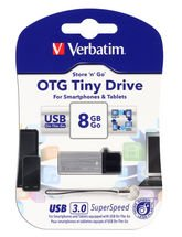 Verbatim Store N Go OTG Tiny USB 3.0 8GB Pen Drive