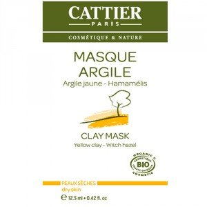 Cattier Masque argile jaune sachet unidose 12.5ml