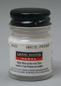 Testor Corp. White Primer Testors Acrylic Plastic Model Paint
