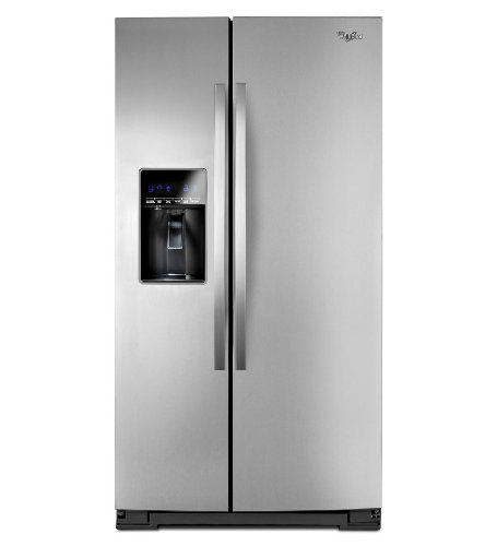 Side By Side Stainless Refrigerator