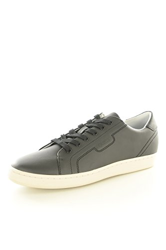 Guess Jeans Baskets/Sport-fmall4lea12-Uomo, nero (nero), 43