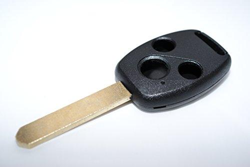 Chequers Motorstore Schlüsselbehälter für Fernbedienungsschlüssel für Honda Civic CR-V Accord / Jazz Hrv Stream 3 Tasten, Schlüsselanhänger-Schutzhülle Schale Schutzhülle Halter
