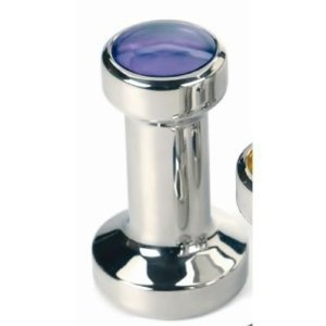 Blue 49mm Espresso Tamper Stainless Steel Coffee from RSVP