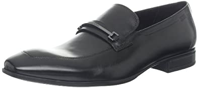 BOSS Black by Hugo Boss Men's Varmio Slip-On Loafer,Black,7.5 M US