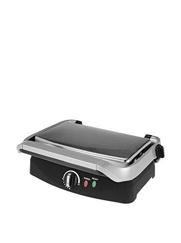 Kalorik Swp 39888 Ss Kalorik Stainless Steel 2-Slice Panini Grill, Black