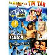 Lo Mejor De Tin Tan - 3 Peliculas - Las Mil Y Una Noches, Lo Que Le Paso a Sanson, Los 3 Mosqueteros Y Medio