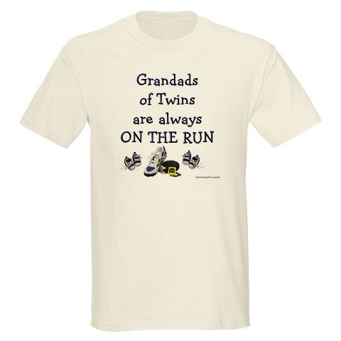 Grandads on the Run Ash Grey T-Shirt Baby / kids / family Light T-Shirt by CafePress