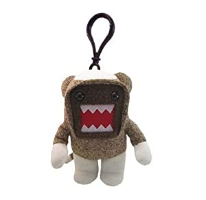 Licensed 2 Play Domo Sock Monkey Clip-On at 'Sock Monkeys'