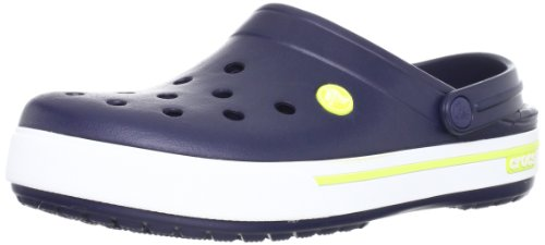 crocs Crocband - Zoccoli unisex -Blu (Navy/Citrus 42K),  41/42