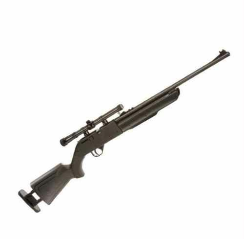 Crosman Recruit Multi-Pump .177 caliber Pellet & BB Rifle air rifle with scope