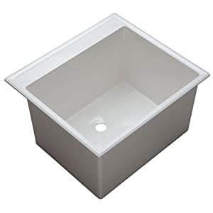 Drop In Laundry Tub : Amazon.com: Proflo PFLT2522D 24-1/2