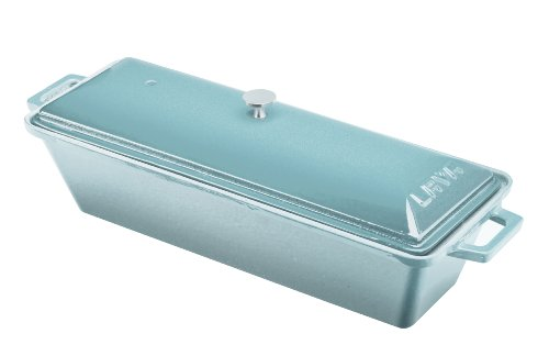 Lava Enameled Cast-Iron Bread/Terrine Pan, 3 By 10-Inch front-426344