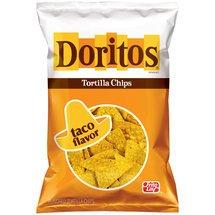 Frito Lay, Doritos® Brand, Taco Flavored Tortilla Chips, 11oz Bag (Pack of 3)