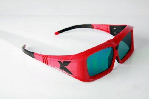 XpanD shutter glasses.