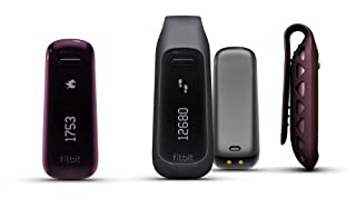 [並行輸入品] Fitbit One Wireless Activity Plus Sleep Tracker (Burgundy ワインレッド)