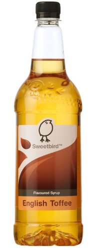 Sweetbird English Toffee Coffee Syrup (1 Litre)