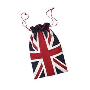 sac de lavage avec le drapeau anglais deco londres. Black Bedroom Furniture Sets. Home Design Ideas