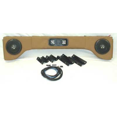 Omix-Ada 13001.Xx Deluxe 2 Way Sound Bar For Jeep