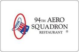 94th Aero Squadron Restaurant Van Nuys Gift Card ($200) (Restaurant Vans compare prices)