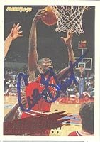 Corie Blount Chicago Bulls 1994 Fleer Autographed Hand Signed Trading Card - Nice... by Hall+of+Fame+Memorabilia