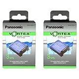 Panasonic WES035P-2PACK Vortex Hydraclean Cartridges 2 PACK ( 6 cartridges)