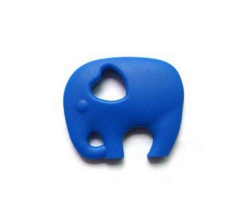 GUMEEZ Ellie The Elephant Teething Toy, Blueberry - 1