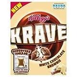 Kelloggs Krave White Chocolate Brownie 375g