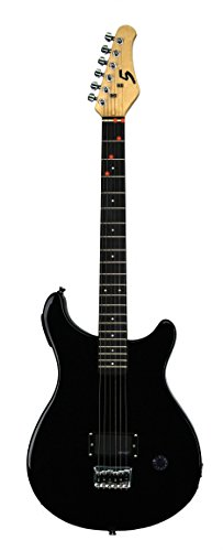 Fretlight 5® Electric Guitar With Built-In Led Lighted Learning System, Black