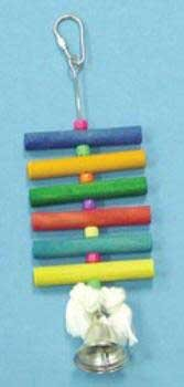 Cheap Top Quality 8″ Toy With Dowel Beads & Bell (TDPS18783)