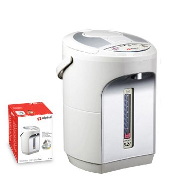 Alpina SF-819 Electric Thermo Pot - 3.2 Lt Kettle for 220 Volts Countries